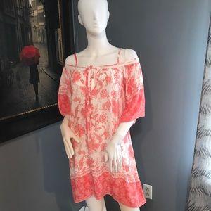 Super Cute Cold Shoulder Tunic Mini Dress 👗